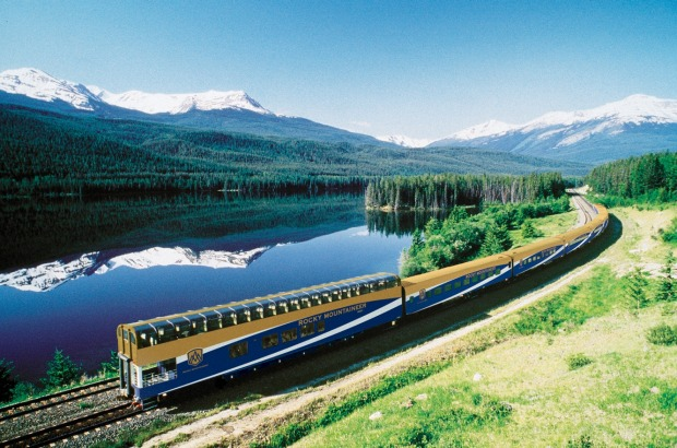 Travelling through Canada's magnificent landscape on board the Rocky Mountaineer.
