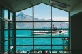 The views are sublime from Eichardt's Hotel in Queenstown.