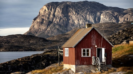 Away from it all in Greenland.