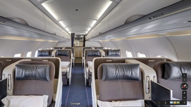 Inside British Airways Business Only Flight With Virtual