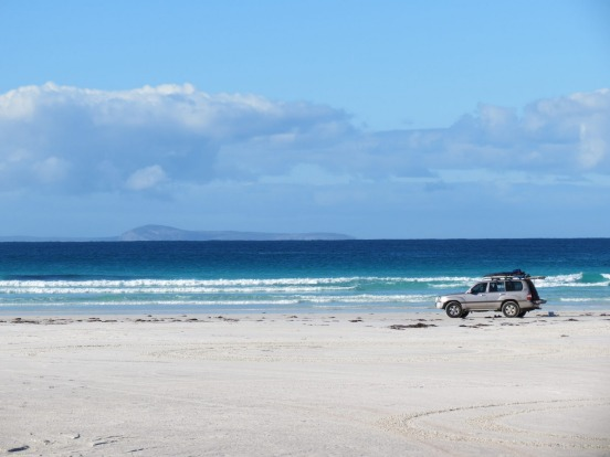 Balladonia Track: the Nullarbor to Esperance: If you don't mind a bit of rugged deep sandy adventure the rough 4WD track ...