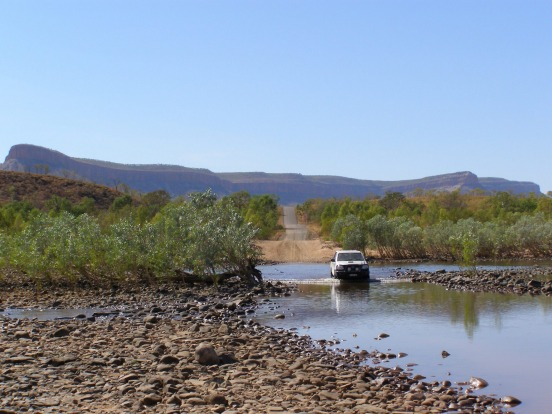 Gibb River Road: Kununurra to Broome: Shorter doesn't always mean quicker. The Gibb River Road is almost 130km shorter ...