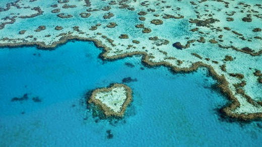 Queensland's Great Barrier Reef, guarding against possible tsunamis.