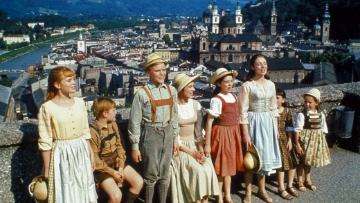 The Von Trapp children from <i>The Sound of Music</i>.