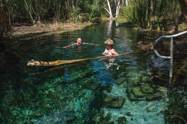 Bitter Springs, NT: The area around Elsey National Park, just outside Katherine, has a special place in the history of ...