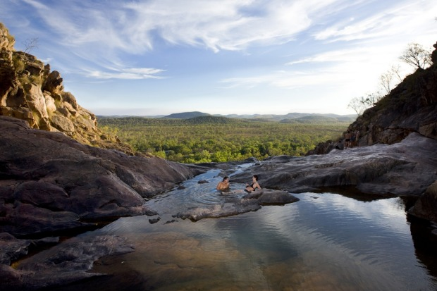 Gunlom Falls, NT: There is always something new to see in Kakadu. Driving through this ever-changing landscape you see ...