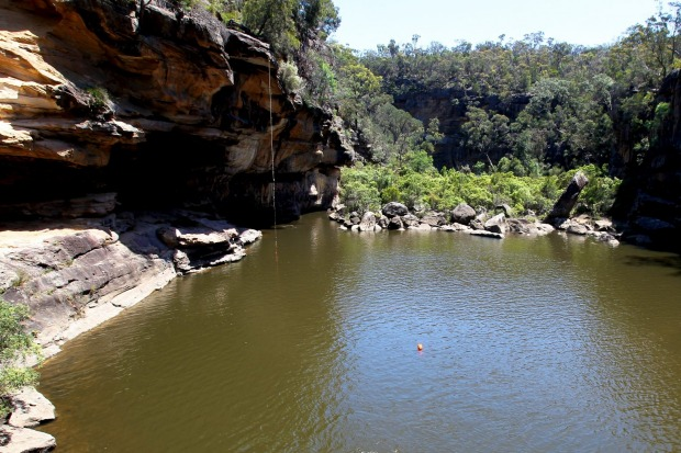 Mermaid Pools, NSW: There are two ways to enter the bush-fringed sandstone swimming hole that is Mermaid Pools, ...