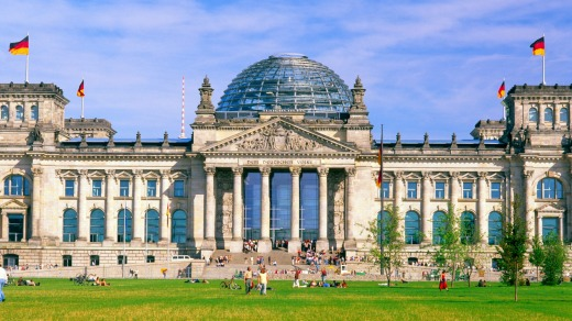 German Parliament Reichstag, Berlin.