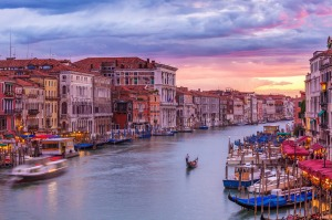 Don't just watch the boats go by in Venice; try steering your own water craft.