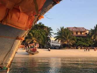 We were heading back to Stone Town in Zanzibar from a boat trip and I was amazed again by the vibrancy and colour of ...