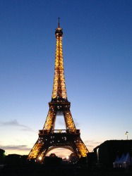 The Eiffel Tower is one of the iconic sights of Paris, but it takes on a totally different appearance when the lights ...