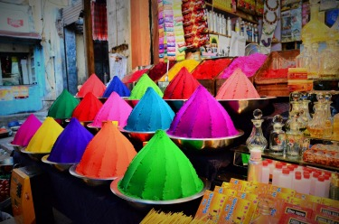 Mysore markets, India, January 2015. I wanted to visit India for the colours. I wasn't disappointed!