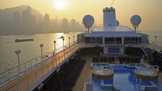 Azamara Quest in Hong Kong.