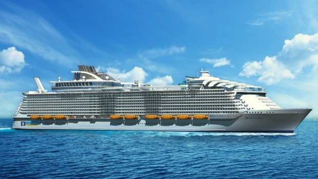 The Royal Caribbean Harmony of the Seas.