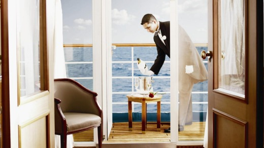 The Silversea Butler in Suite 1.