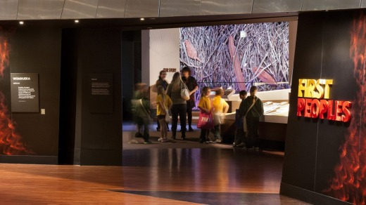 First Peoples exhibition at Bunjilaka, Melbourne Museum.