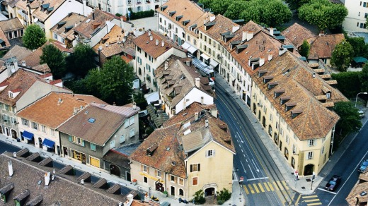 Carouge became a part of Geneva in 1816, which had joined Switzerland the year before.