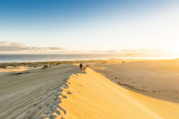 Gunyah Beach Sand Dunes on the Eyre Peninsula.