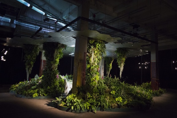The Lowline Lab, New York: Plans for an underground park in New York City's Lower East Side will see an abandoned trolly ...