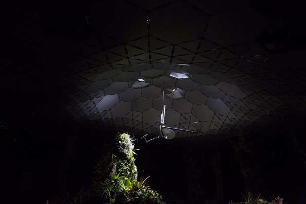 The Lowline Lab, New York: The lab is just over 1200 square feet (111 square metres), which is said to be about 5 per ...