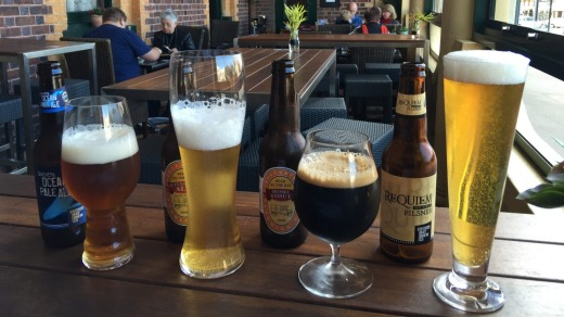 The Vue Grand Hotel in Queenscliff has made a point of stocking beers from regional brewers.