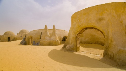 Tunisia has been used as a location in every Star Wars film except The Empire Strikes Back.