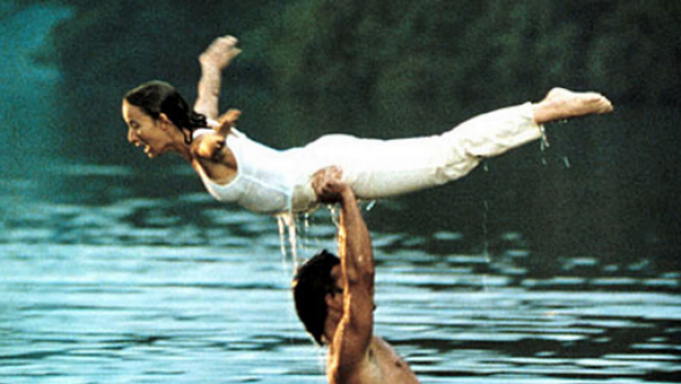 'The lift' from the film Dirty Dancing, one of the scenes from the movie that made the lake famous.