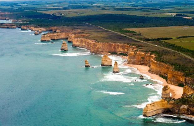 Australia's most famous scenic drive: The Great Ocean Road.