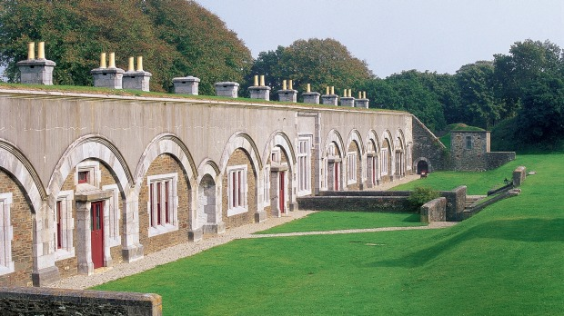 Crownhill Fort, Plymouth, is the best-preserved of a chain of Victorian naval  defences.