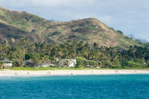 The Obama's rent a holiday home at Kailua Beach each year.