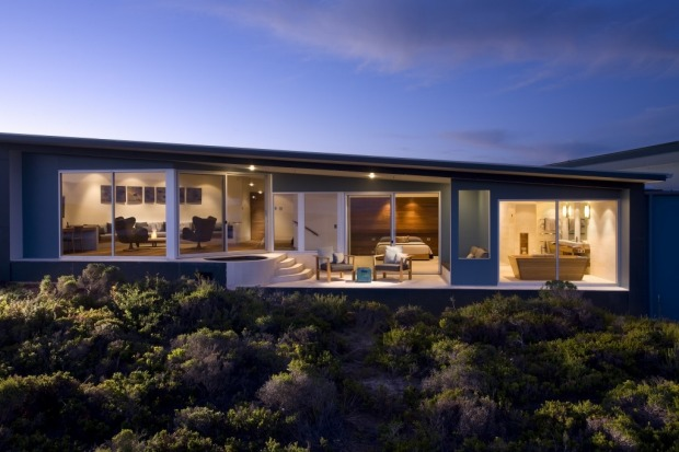 The Remarkable Suite at Southern Ocean Lodge, Kangaroo Island.