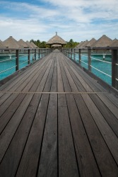 I was wandering around Bora Bora with an idea for symmetry and lines and found the perfect place.