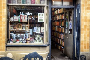 Murder and Mayhem Bookshop.