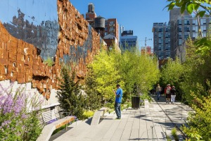 The High Line Public Park has become a magnet for art and nature lovers.