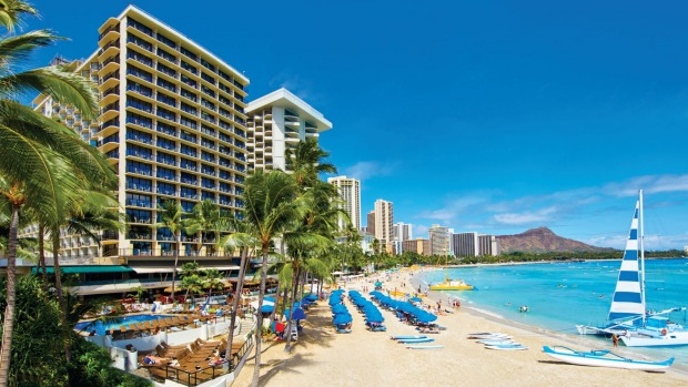 Get four nights for the price of three on a Leap Year holiday at the Waikiki Outrigger Resort.