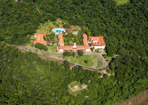GO THE FULL BRAZILIAN: Over on the Brazilian side, the dashing Hotel das Cataratas gets exclusive national park rights ...
