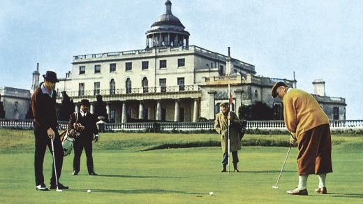 Goldfinger was shot at Stoke Park Country Club, Buckinghamshire.