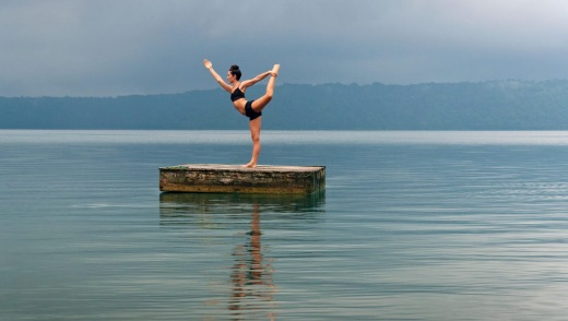 Lake Nicaragua is the largest lake in Central America and a  perfect place for relaxation.