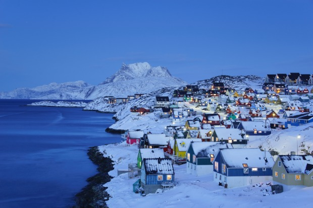 Number 9: Greenland.