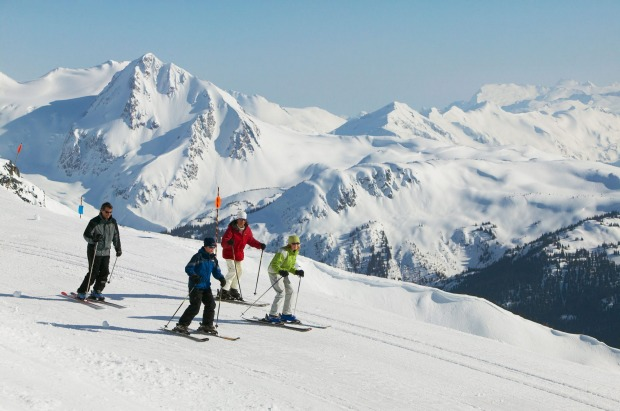 Hit the slopes in Whistler, Canada: Take your skiing and snowboarding to the next level. The kids can also try dog ...