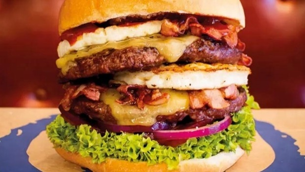 Need protein? Try Queenstown's Fergburger.