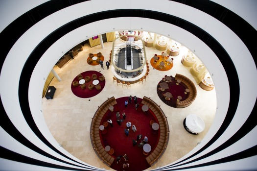 Inside The Vibe Hotel.