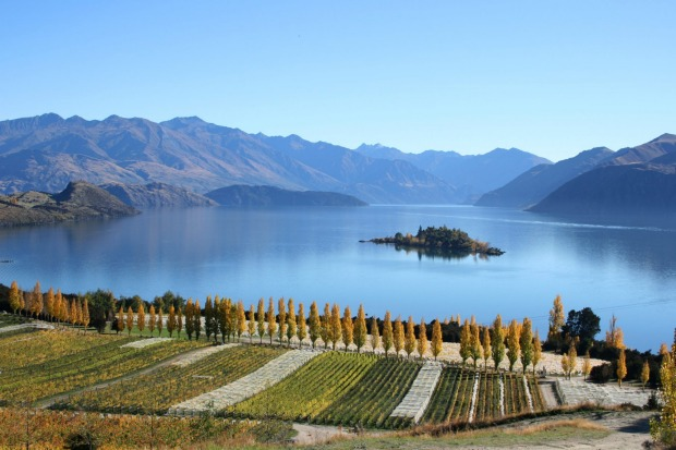 CENTRAL OTAGO, NEW ZEALAND: Practically every New Zealand wine region is beautiful, but follow the road out of ...
