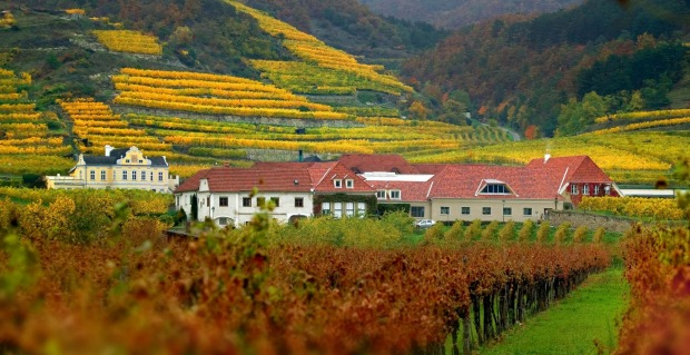 """WACHAU VALLEY, AUSTRIA; You'd expect a place nicknamed """"the smile on the face of Austria"""" to be pretty, and this gentle ..."""
