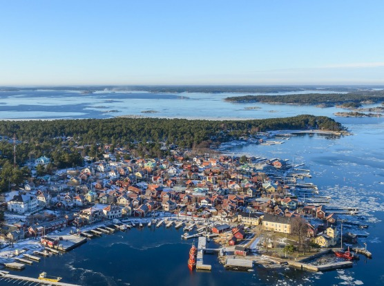 Stockholm archipelago, Sweden: Close to 30,000 islands make up the Stockholm archipelago and cruising into this ...