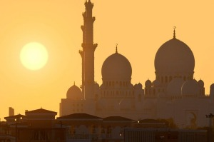 The Sheikh Zayed Mosque is one of Abu Dhabi's sublime sights.