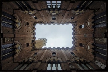 The historic centre of Siena, Italy is a UNESCO a World Heritage Site for its medieval architecture. The Torre del ...