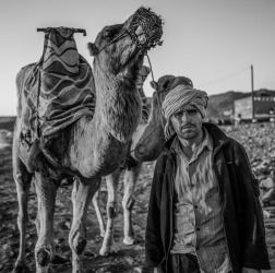 The camel driver. Got chatting to this guy near Agadir in Morocco about his beloved camels and he was kind enough to let me take his photo.