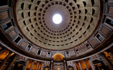 Reading in the guide books that the Pantheon in Rome was built in the 2nd Century AD is one thing - seeing the enormity ...