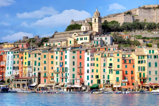 Porto Venere in the Golfo di Poeti, La Spezia, Italy: Golfo di Poeti translates to Gulf of Poets, so it's no surprise ...